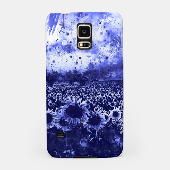 abstract sunflowers wsdb Samsung Case miniature