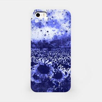 abstract sunflowers wsdb iPhone Case miniature