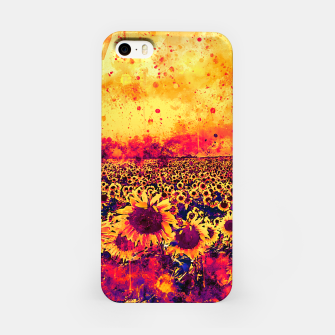 abstract sunflowers wslsh iPhone Case thumbnail image