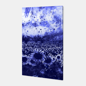 abstract sunflowers wsdb Canvas miniature