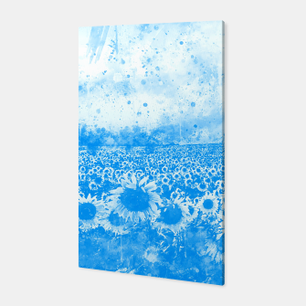 abstract sunflowers wswb Canvas thumbnail image