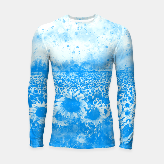 abstract sunflowers wswb Longsleeve rashguard  thumbnail image