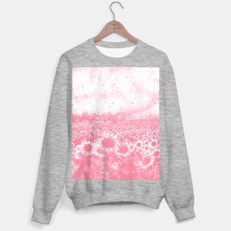 abstract sunflowers wspw Sweater regular thumbnail image