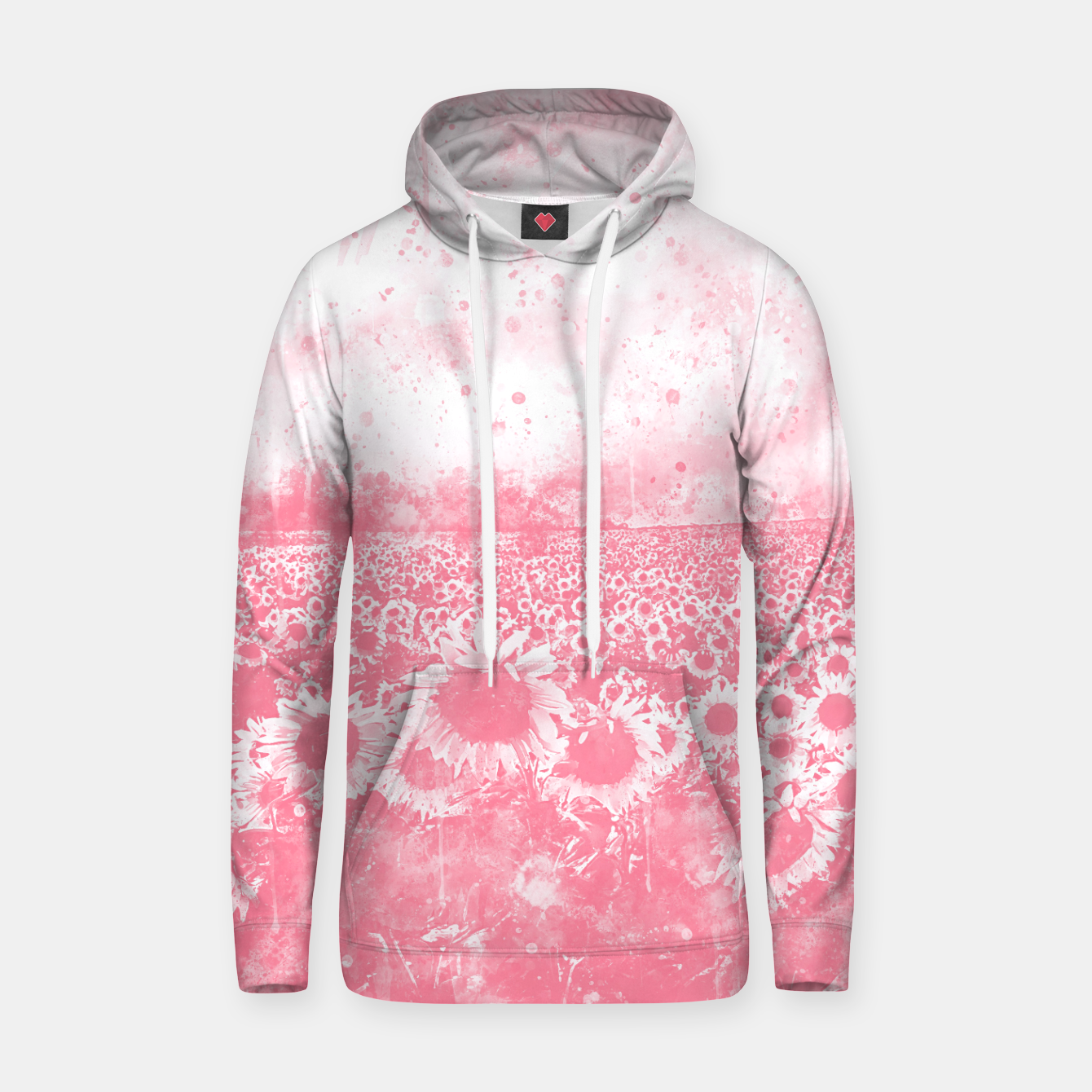 Image de abstract sunflowers wspw Hoodie - Live Heroes