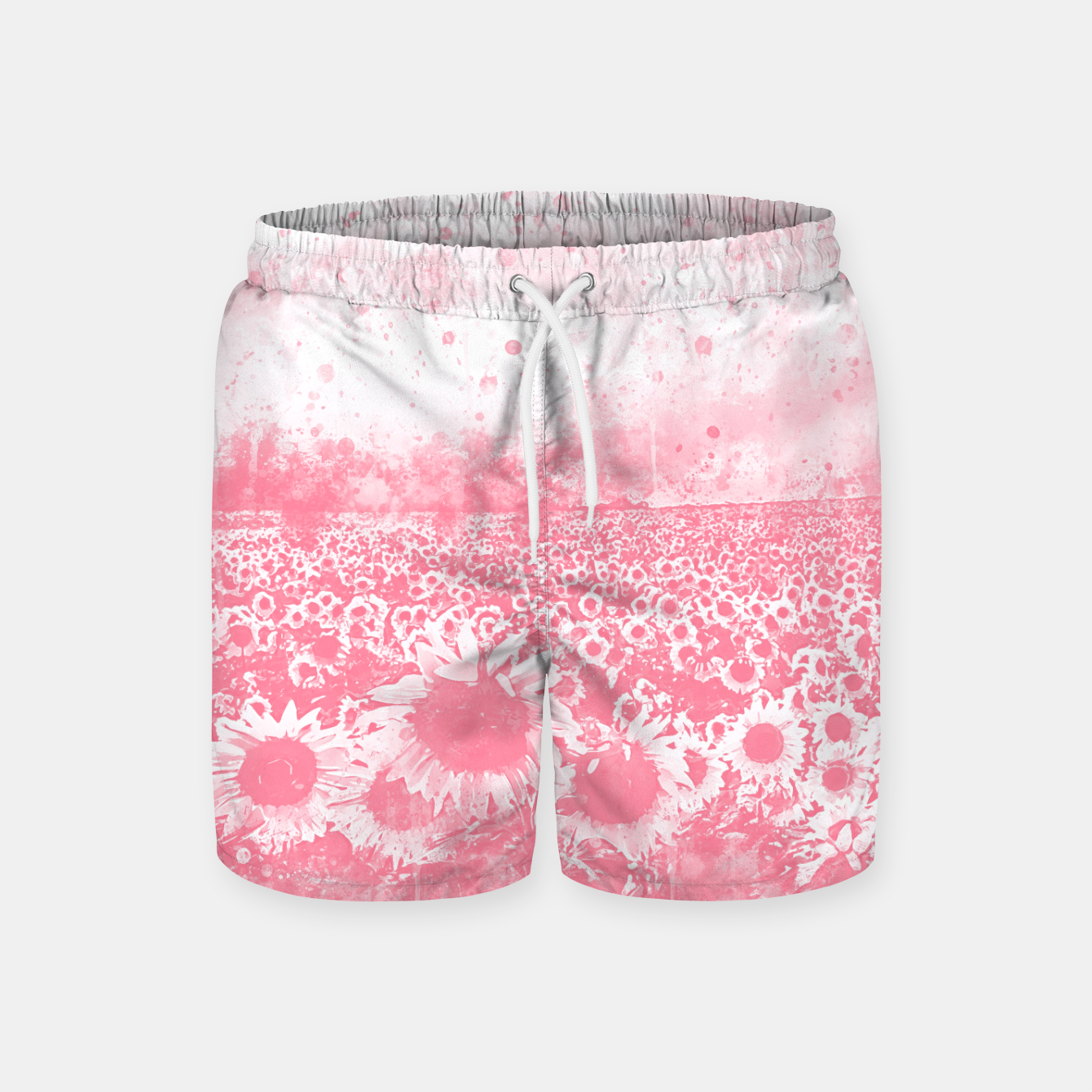 Image de abstract sunflowers wspw Swim Shorts - Live Heroes