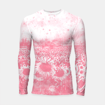 abstract sunflowers wspw Longsleeve rashguard  miniature