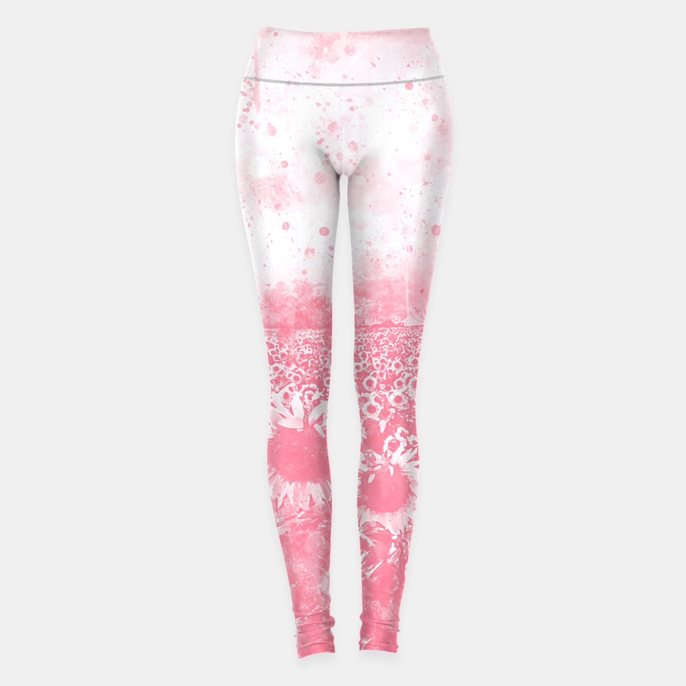 Image de abstract sunflowers wspw Leggings - Live Heroes