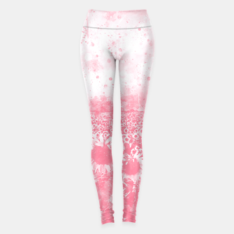 Thumbnail image of abstract sunflowers wspw Leggings, Live Heroes