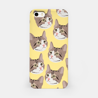 Miniatur Kitty iPhone Case, Live Heroes