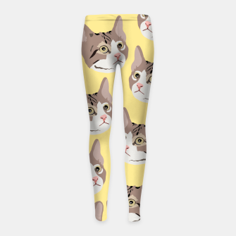 Miniature de image de Kitty Girl's leggings, Live Heroes