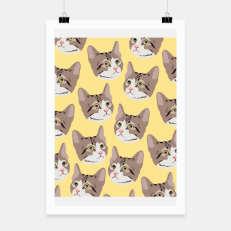 Miniatur Kitty Poster, Live Heroes