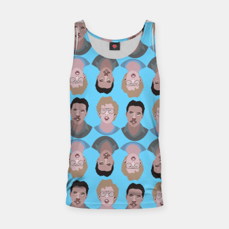 Miniatur Napoleon Dynamite Tank Top, Live Heroes