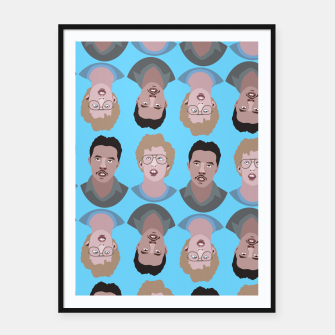 Miniatur Napoleon Dynamite Framed poster, Live Heroes