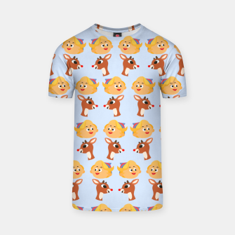 Thumbnail image of Rudolph The Red Nose Raindeer T-shirt, Live Heroes