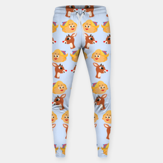 Thumbnail image of Rudolph The Red Nose Raindeer Sweatpants, Live Heroes