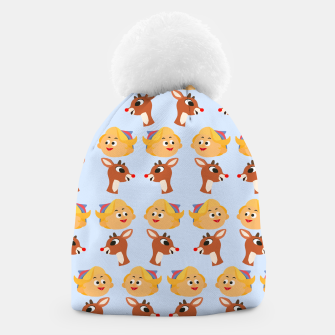 Thumbnail image of Rudolph The Red Nose Raindeer Beanie, Live Heroes
