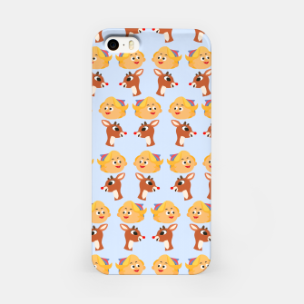 Thumbnail image of Rudolph The Red Nose Raindeer iPhone Case, Live Heroes