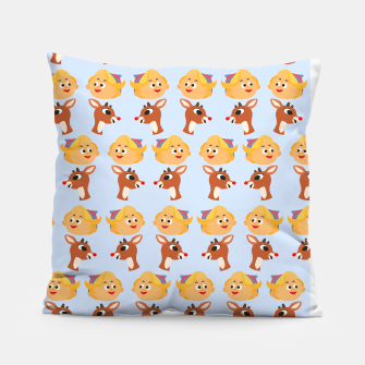 Thumbnail image of Rudolph The Red Nose Raindeer Pillow, Live Heroes