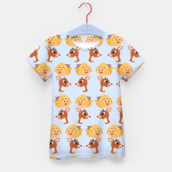 Thumbnail image of Rudolph The Red Nose Raindeer Kid's t-shirt, Live Heroes
