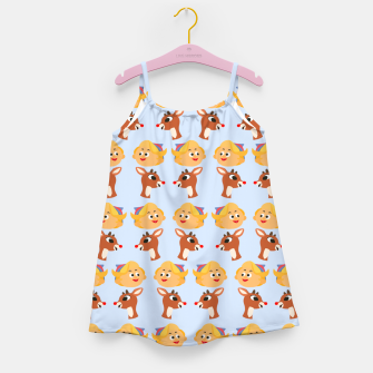 Thumbnail image of Rudolph The Red Nose Raindeer Girl's dress, Live Heroes