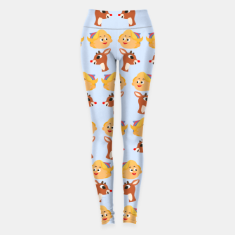 Thumbnail image of Rudolph The Red Nose Raindeer Leggings, Live Heroes