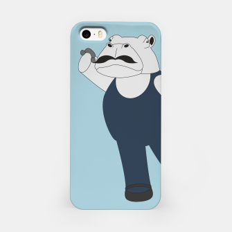 Thumbnail image of Drama Hippo iPhone Case, Live Heroes
