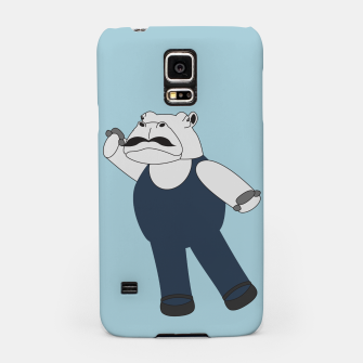 Thumbnail image of Drama Hippo Samsung Case, Live Heroes