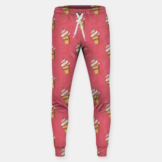 Thumbnail image of FAST FOOD / Ice Cream - pattern Sweatpants, Live Heroes