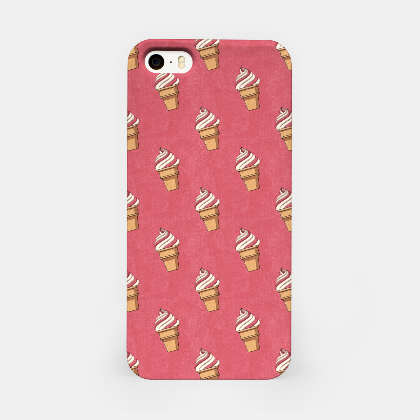 Image of FAST FOOD / Ice Cream - pattern iPhone Case - Live Heroes