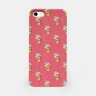 Thumbnail image of FAST FOOD / Ice Cream - pattern iPhone Case, Live Heroes