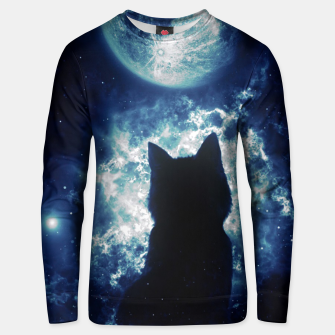 Cat in Space Unisex sweater miniature