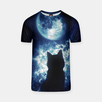 Cat in Space T-shirt miniature