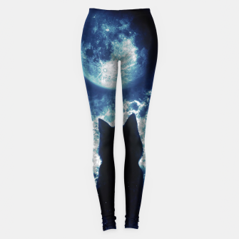 Cat in Space Leggings miniature