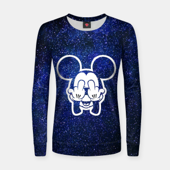 Miniature de image de Rebel Mickey Women sweater, Live Heroes