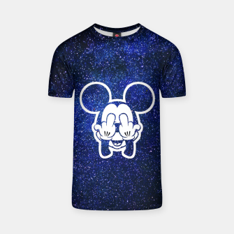 Thumbnail image of Rebel Mickey T-shirt, Live Heroes