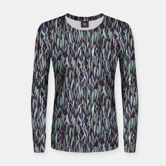 Thumbnail image of Evergreen Eucalyptus Forest Women sweater, Live Heroes