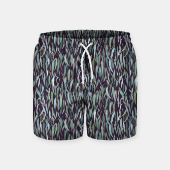 Thumbnail image of Evergreen Eucalyptus Forest Swim Shorts, Live Heroes