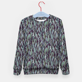 Thumbnail image of Evergreen Eucalyptus Forest Kid's sweater, Live Heroes