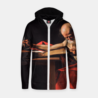 Thumbnail image of Saint Jerome Zip up hoodie, Live Heroes