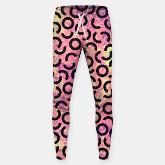 Thumbnail image of Tropical Pineapple Fruit Pattern Design Sweatpants, Live Heroes