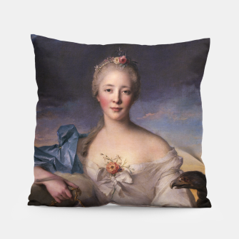Thumbnail image of Madame Le Fèvre de Caumartin as Hebe By Jean-Marc Nattier Pillow, Live Heroes