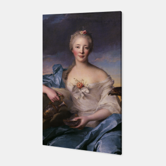 Thumbnail image of Madame Le Fèvre de Caumartin as Hebe By Jean-Marc Nattier Canvas, Live Heroes