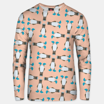 Thumbnail image of Blue boobie Unisex sweater, Live Heroes