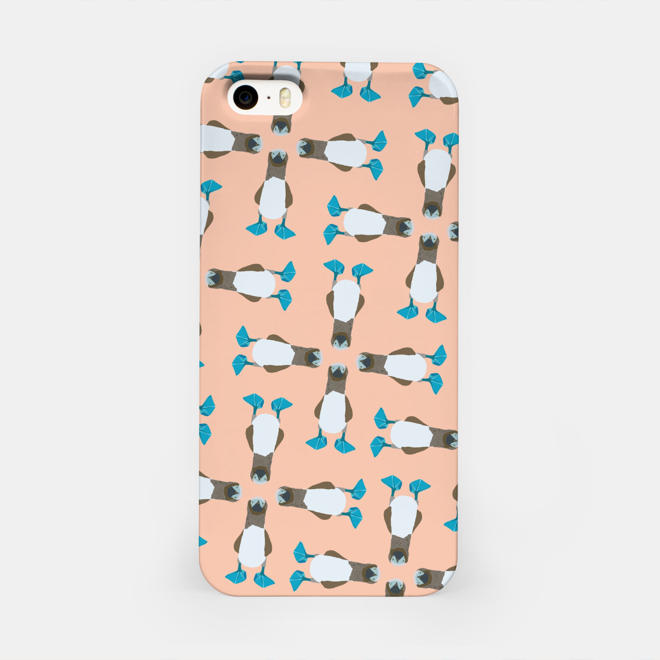 Image of Blue boobie iPhone Case - Live Heroes