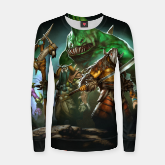 Thumbnail image of фан2 Women sweater, Live Heroes
