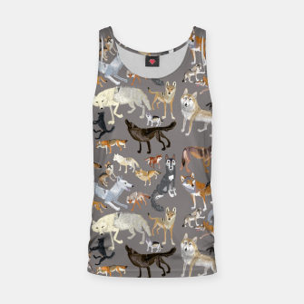 Thumbnail image of Wolves of the wolf grey Camiseta de tirantes, Live Heroes