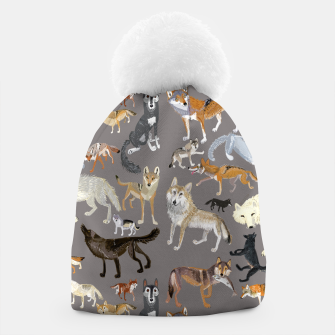 Miniatur Wolves of the wolf grey Gorro, Live Heroes