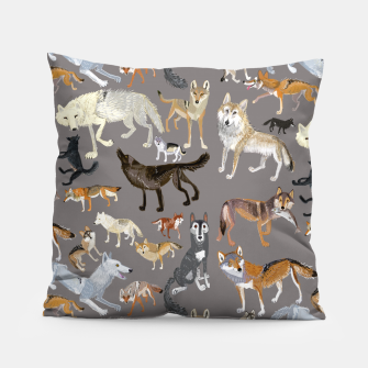 Miniatur Wolves of the wolf grey Almohada, Live Heroes