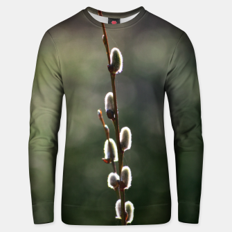 Thumbnail image of Pussy willow Unisex sweater, Live Heroes