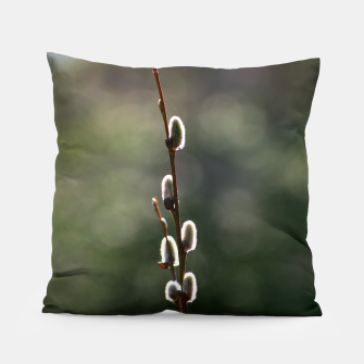 Thumbnail image of Pussy willow Pillow, Live Heroes